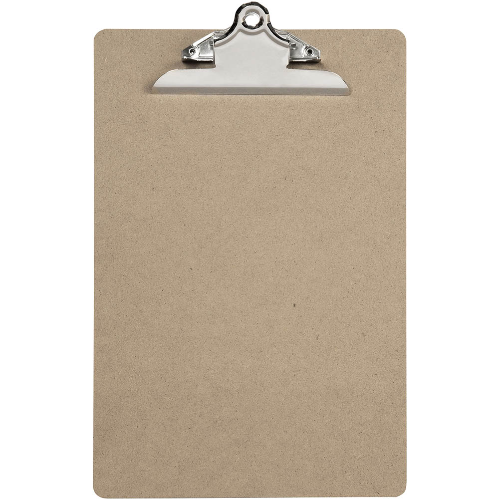 MARBIG CLIPBOARD MASONITE SOLID CLIP FOOLSCAP