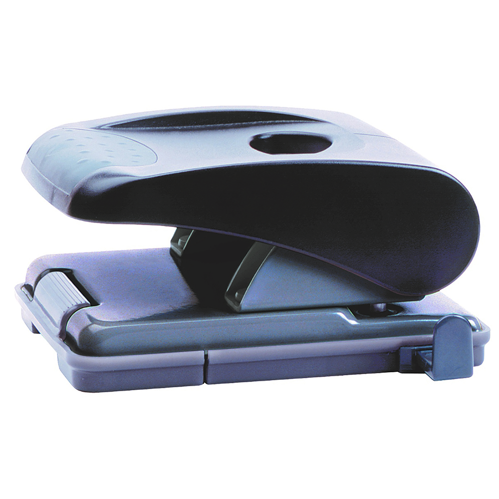 MARBIG MEDIUM 2 HOLE PUNCH BLACK