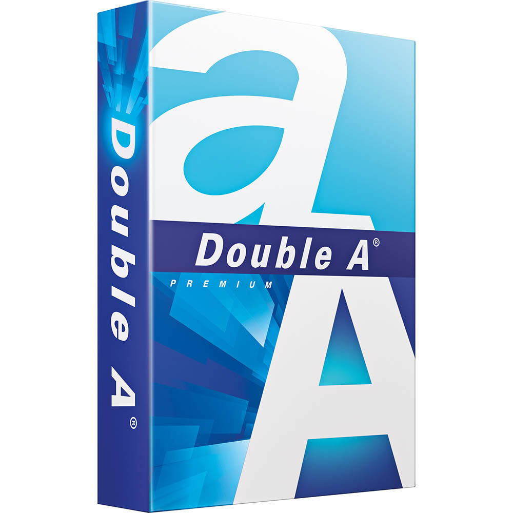 DOUBLE A A5 SMOOTHER COPY PAPER 80GSM WHITE 500 SHEETS