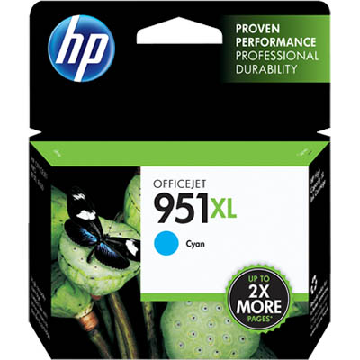 HP 951XL INKJET CARTRIDGE CYAN