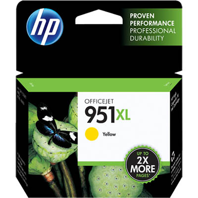HP 951XL INKJET CARTRIDGE YELLOW