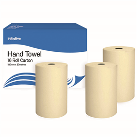 OFFICE NATIONAL HAND TOWEL ROLL 180MM X 80M CARTON 16